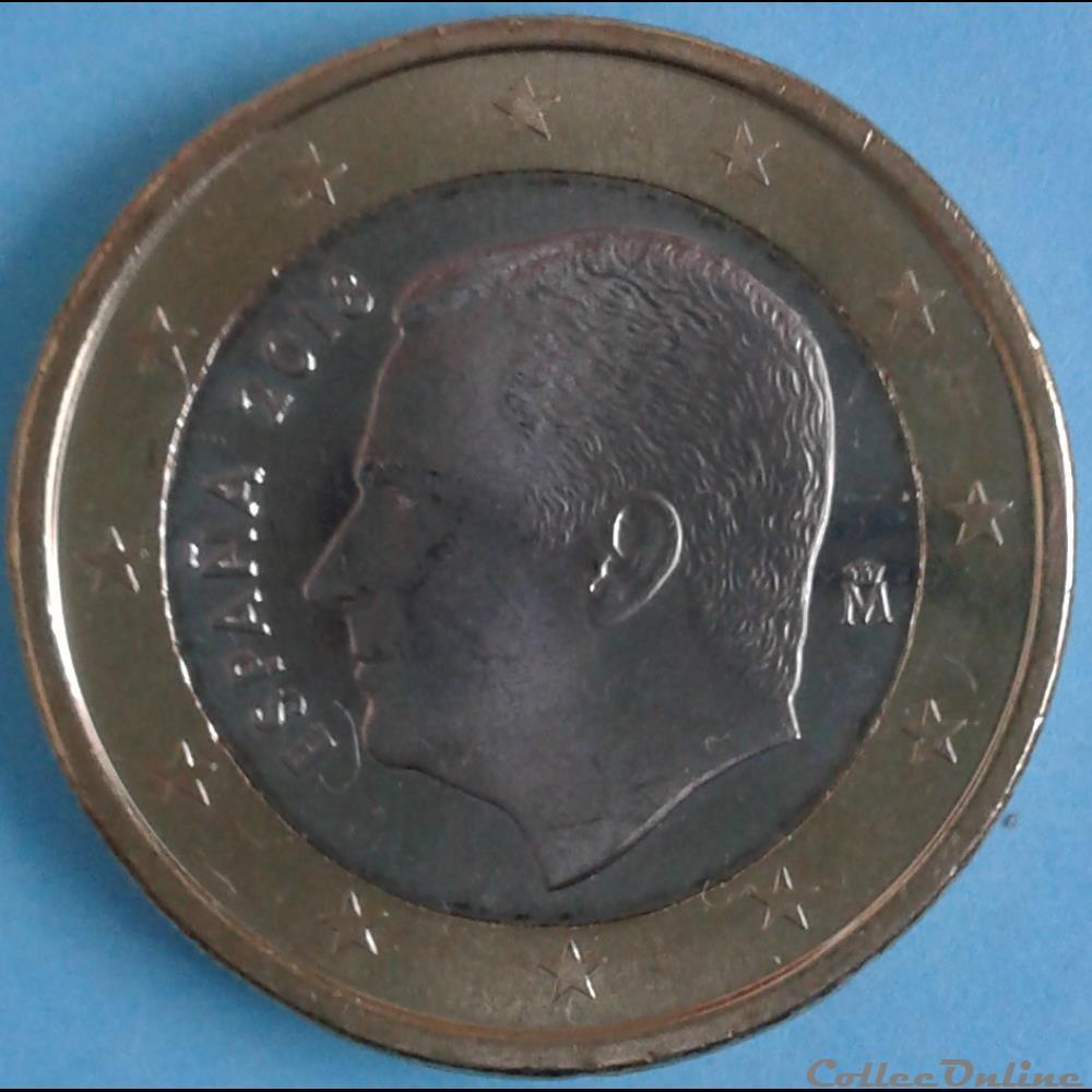 monnaie espagne 2018 1 euro