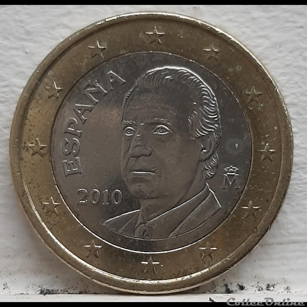 monnaie espagne 2010 1 euro