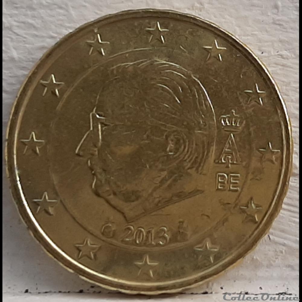 monnaie euro a belgique 2013 10 cents