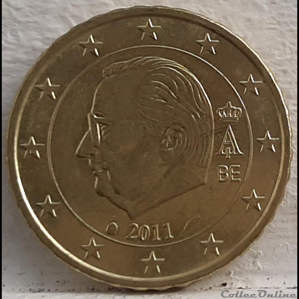 monnaie euro a belgique 2011 10 cents
