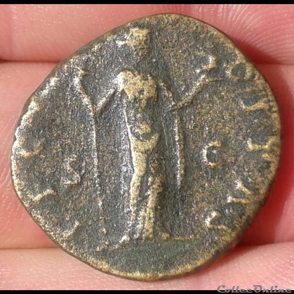 monnaie antique romaine faustine jeune as