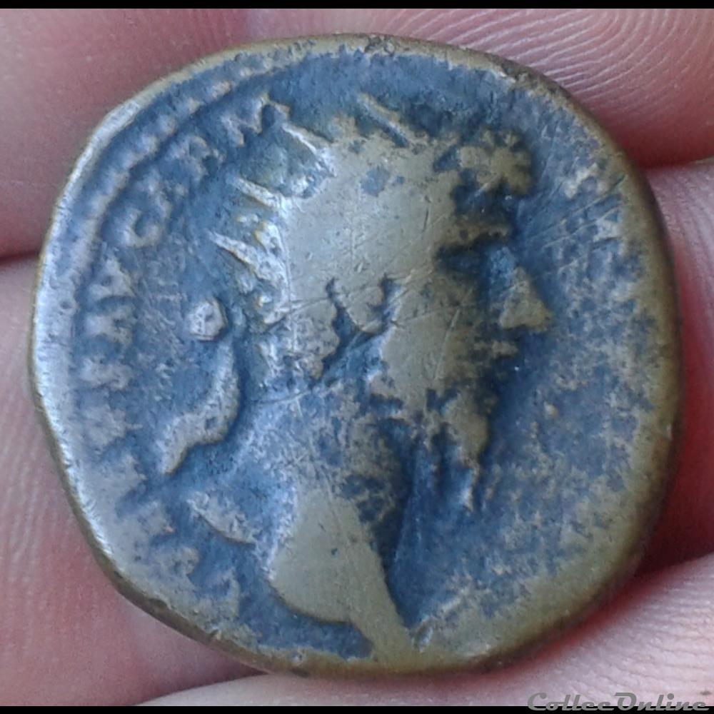 monnaie antique romaine lucius verus dupondius
