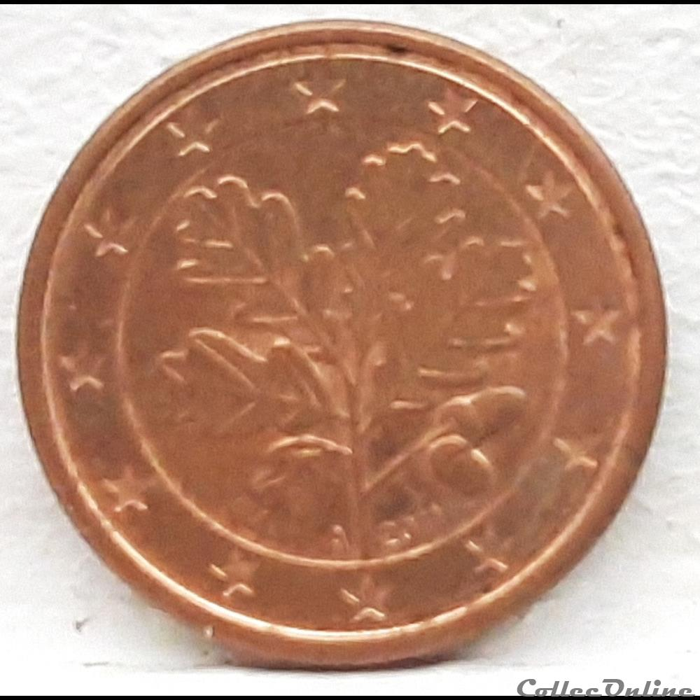monnaie euro allemagne 2011 a 1 cent