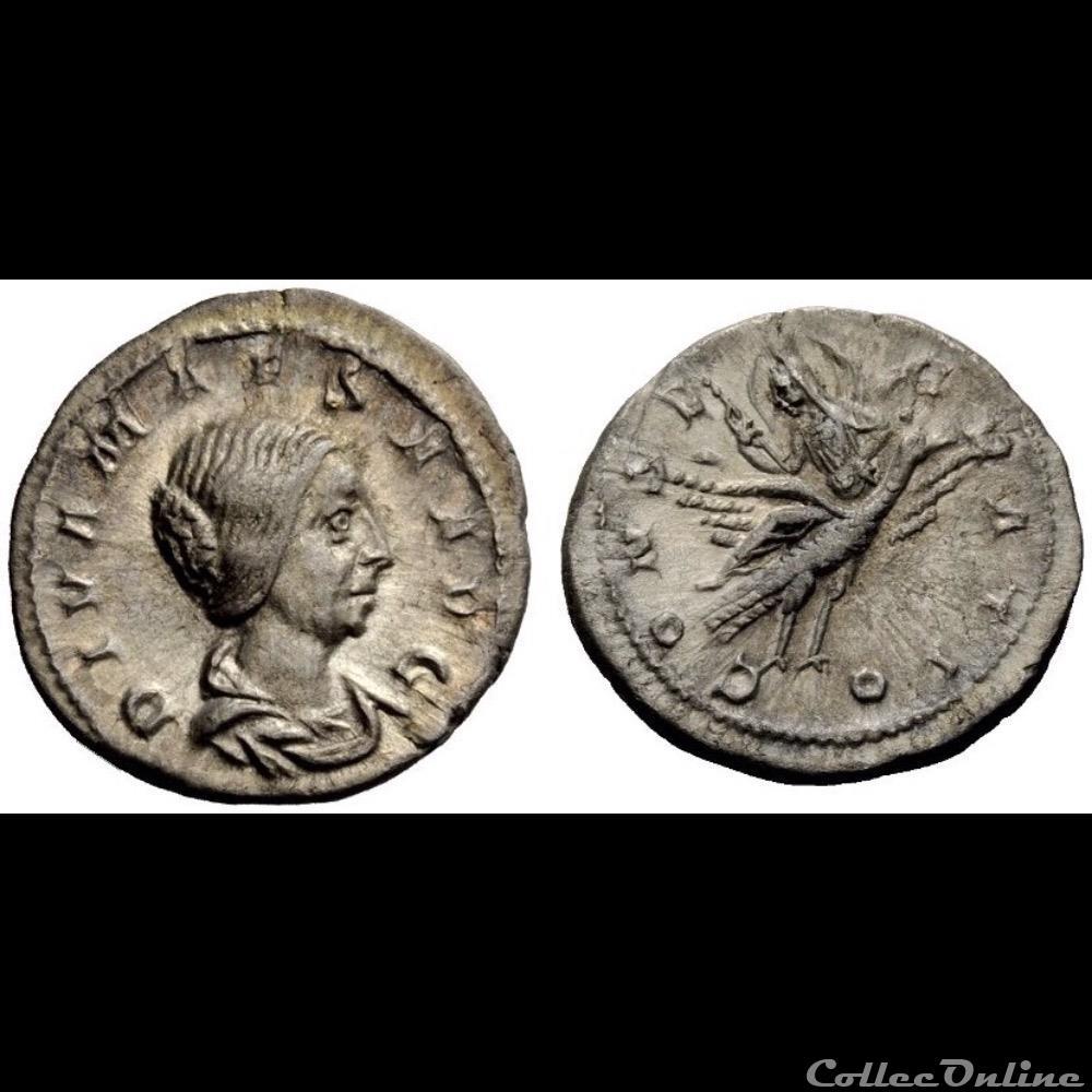 monnaie antique romaine diva iulia maesa