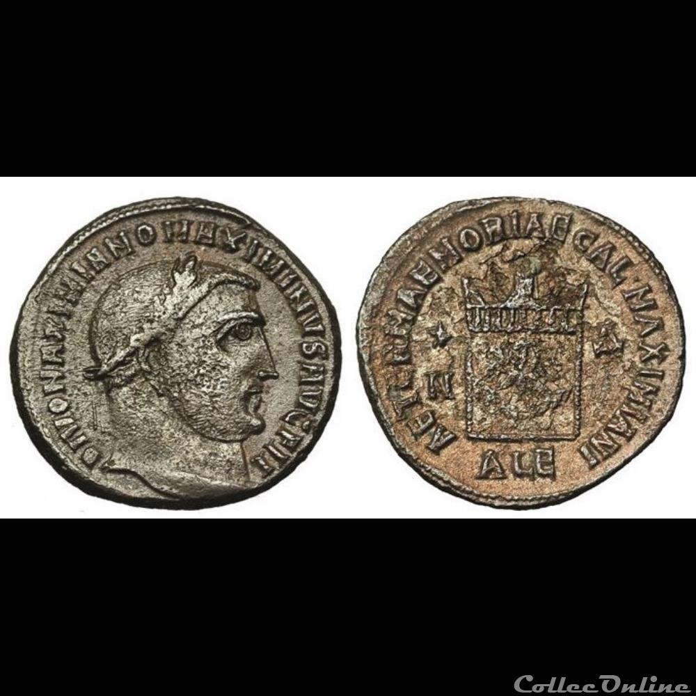 monnaie antique romaine divus galerius
