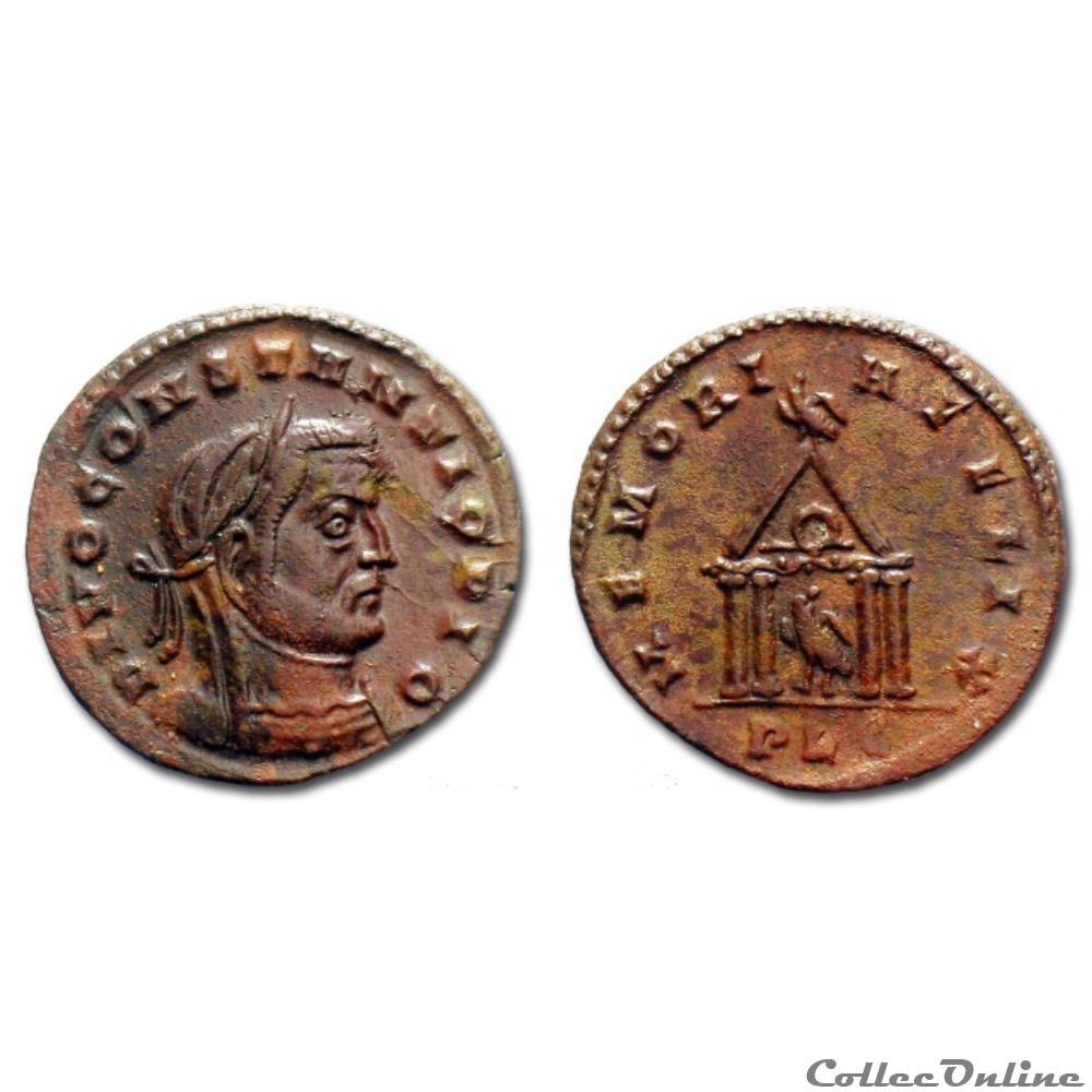 monnaie antique romaine divus constantius