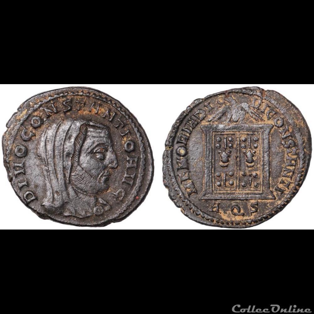 monnaie antique romaine divus constantius i
