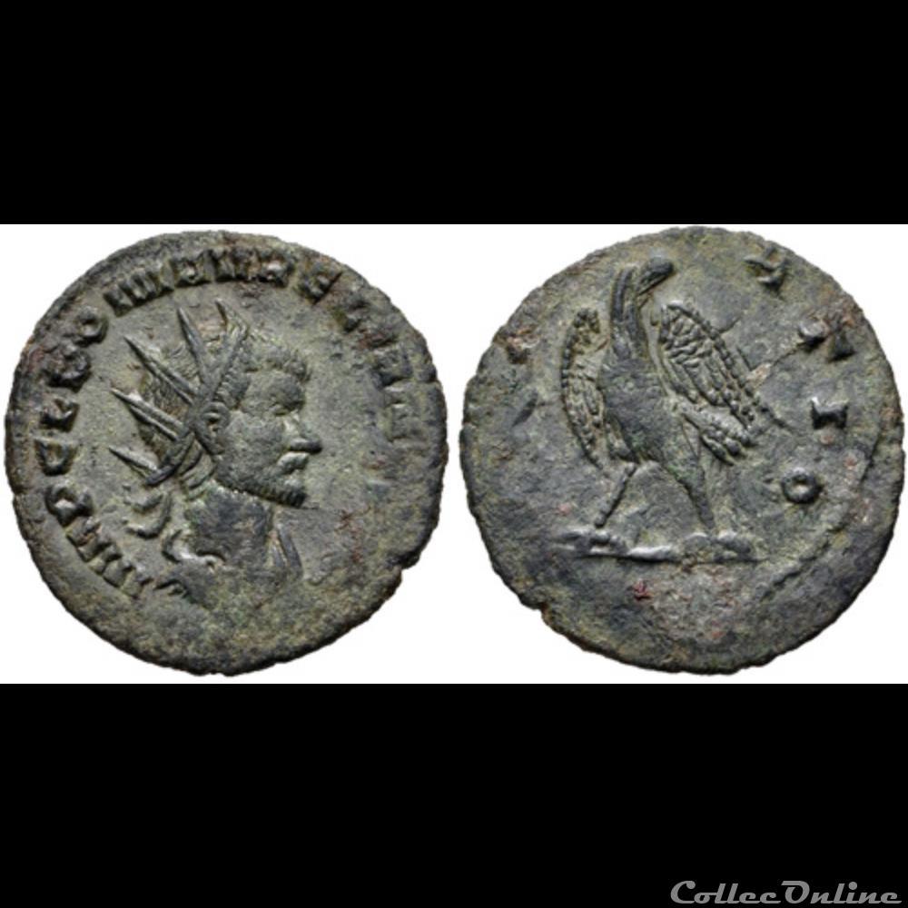 monnaie antique romaine aurelian eagle reverse