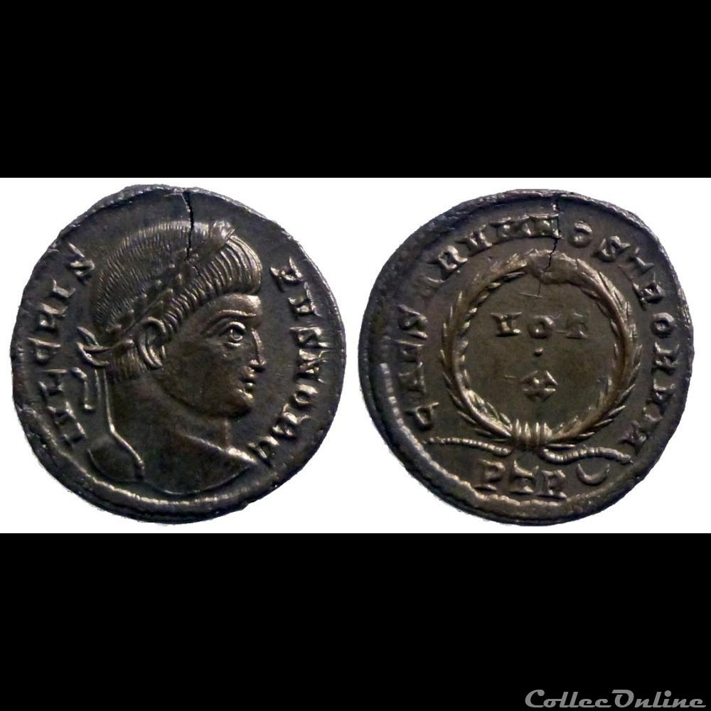 monnaie antique romaine crispus ae follis reduit caesarvm nostrorvm trier