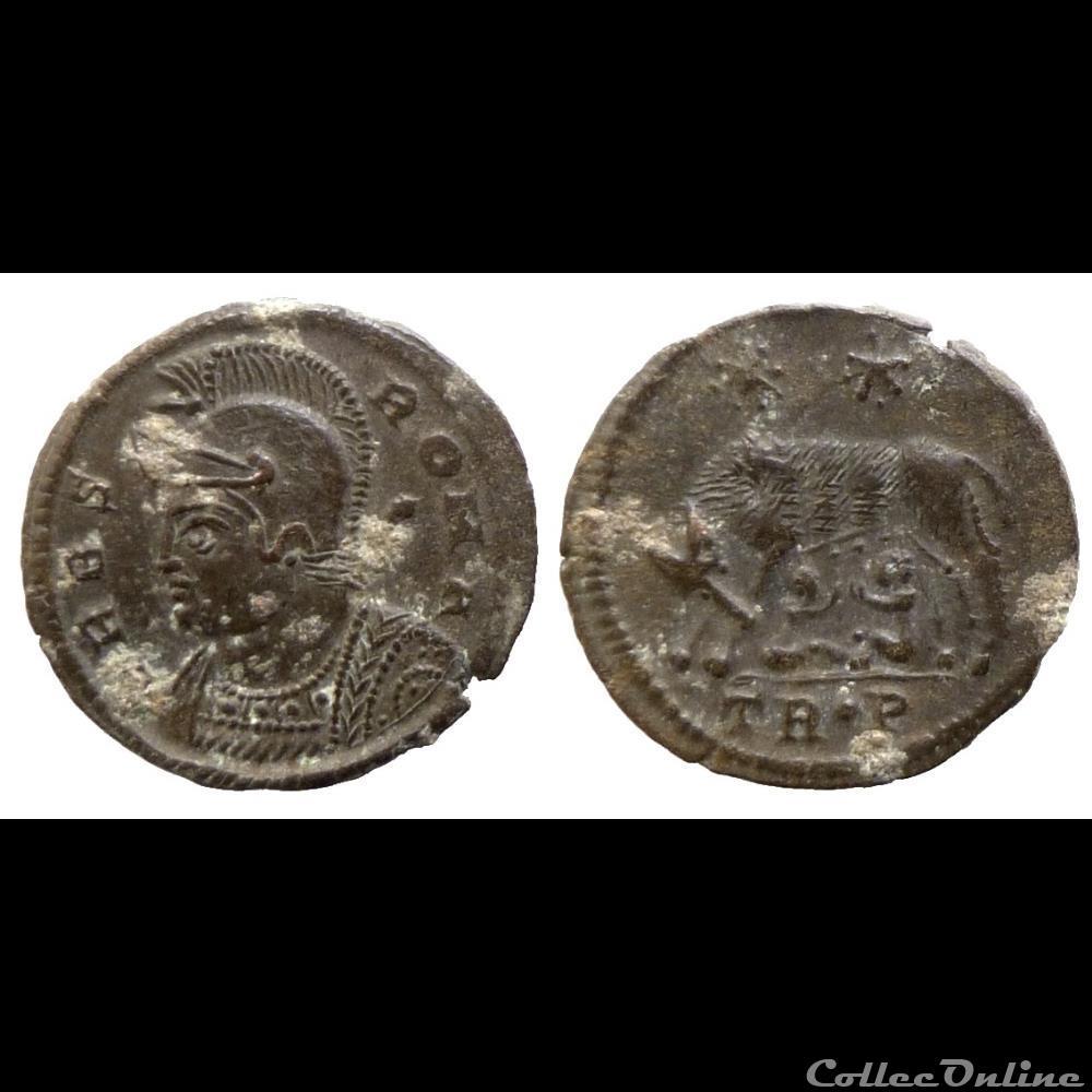 monnaie antique av jc ap romaine urbs roma trier