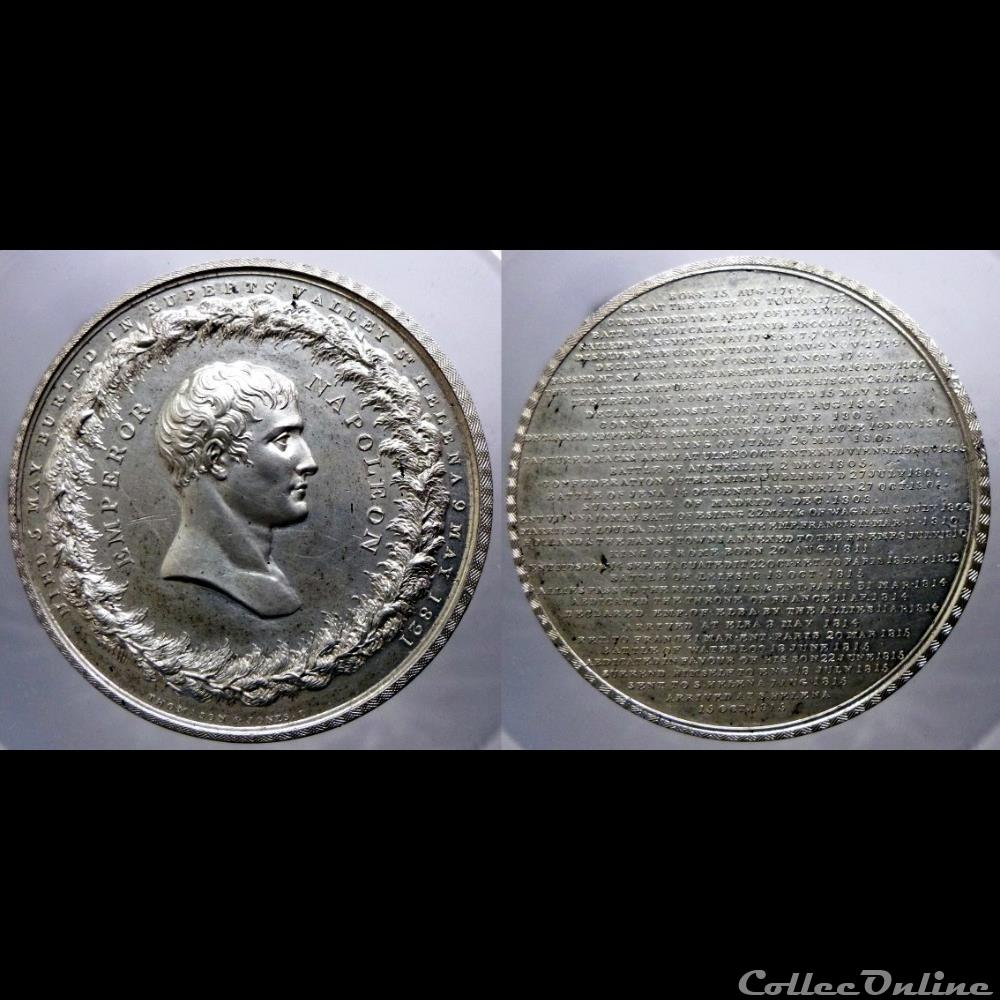 royaume uni napoleon ier medaille