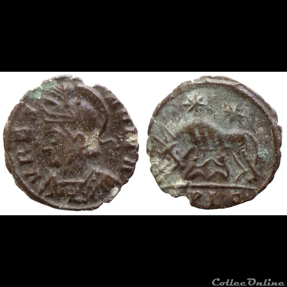 monnaie antique av jc ap romaine urbs roma lyon baebarise