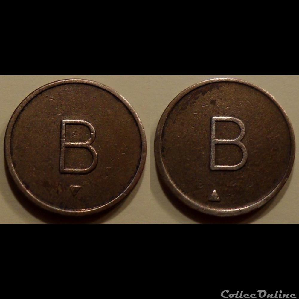 monnaie mereaux i jeton anonyme b