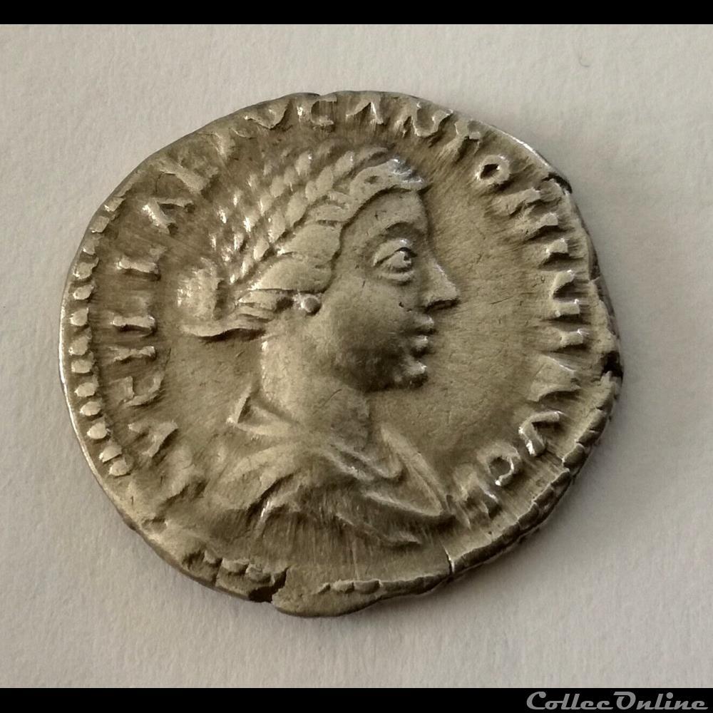 monnaie antique romaine denier lucille