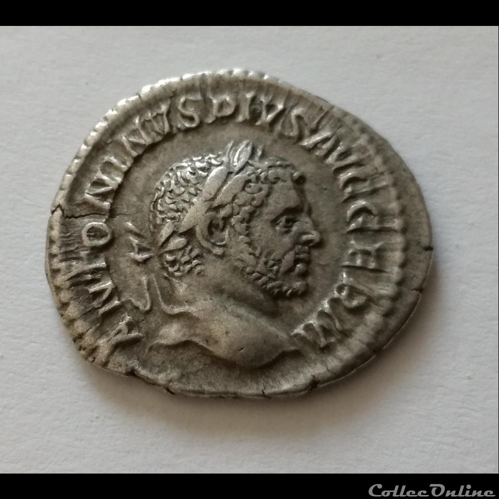 monnaie antique romaine denier caracalla