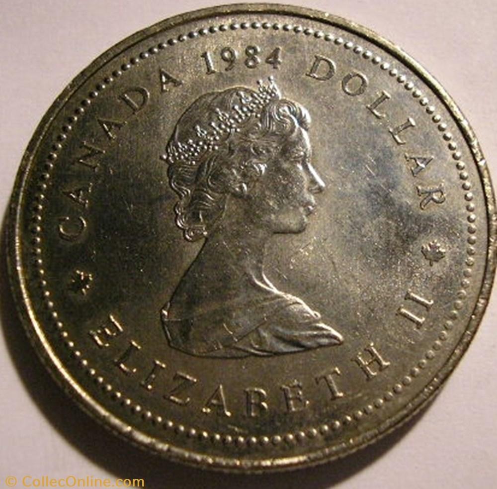 monnaie monde canadum elizabeth ii 1 dollar 1984 jacques cartier
