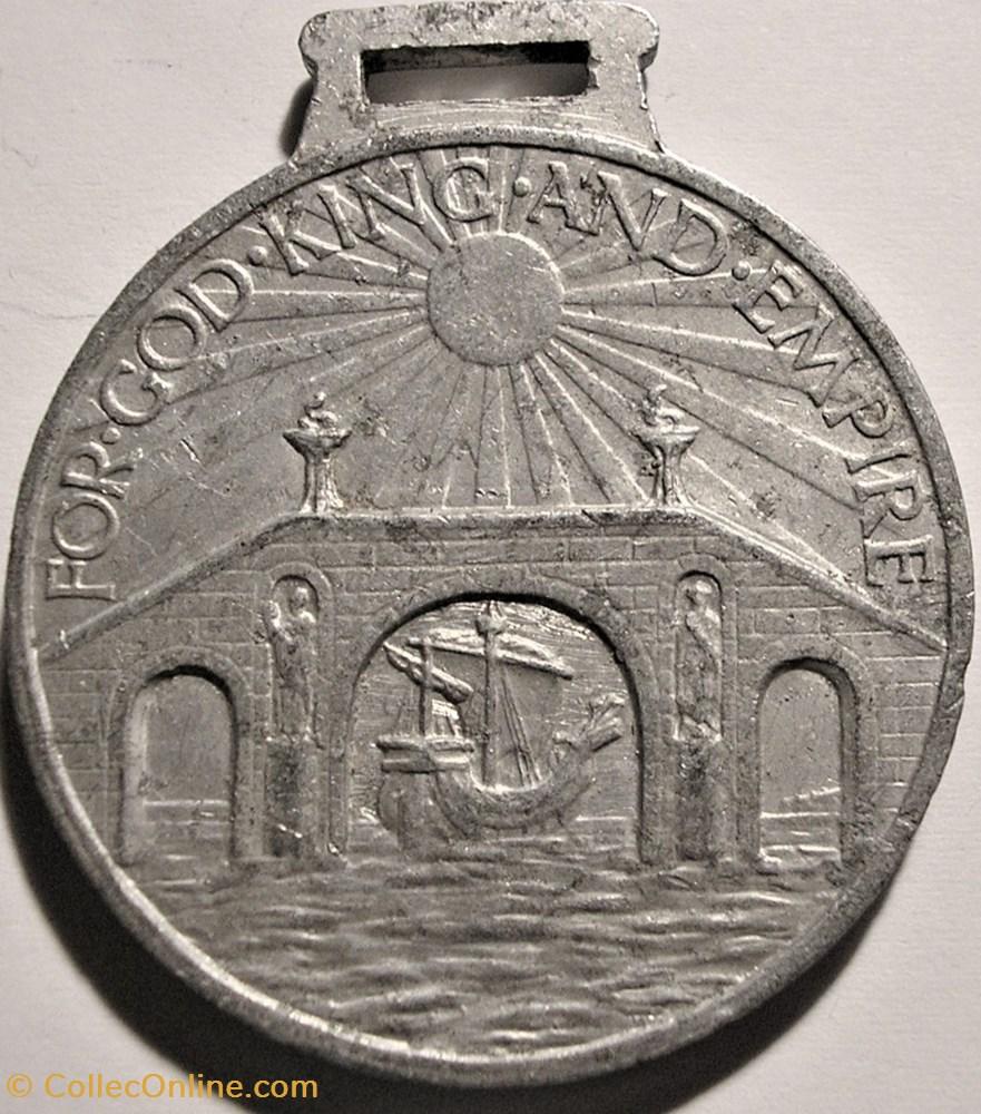 medaille royaume uni prince edward viii empire day medal 1927 uk