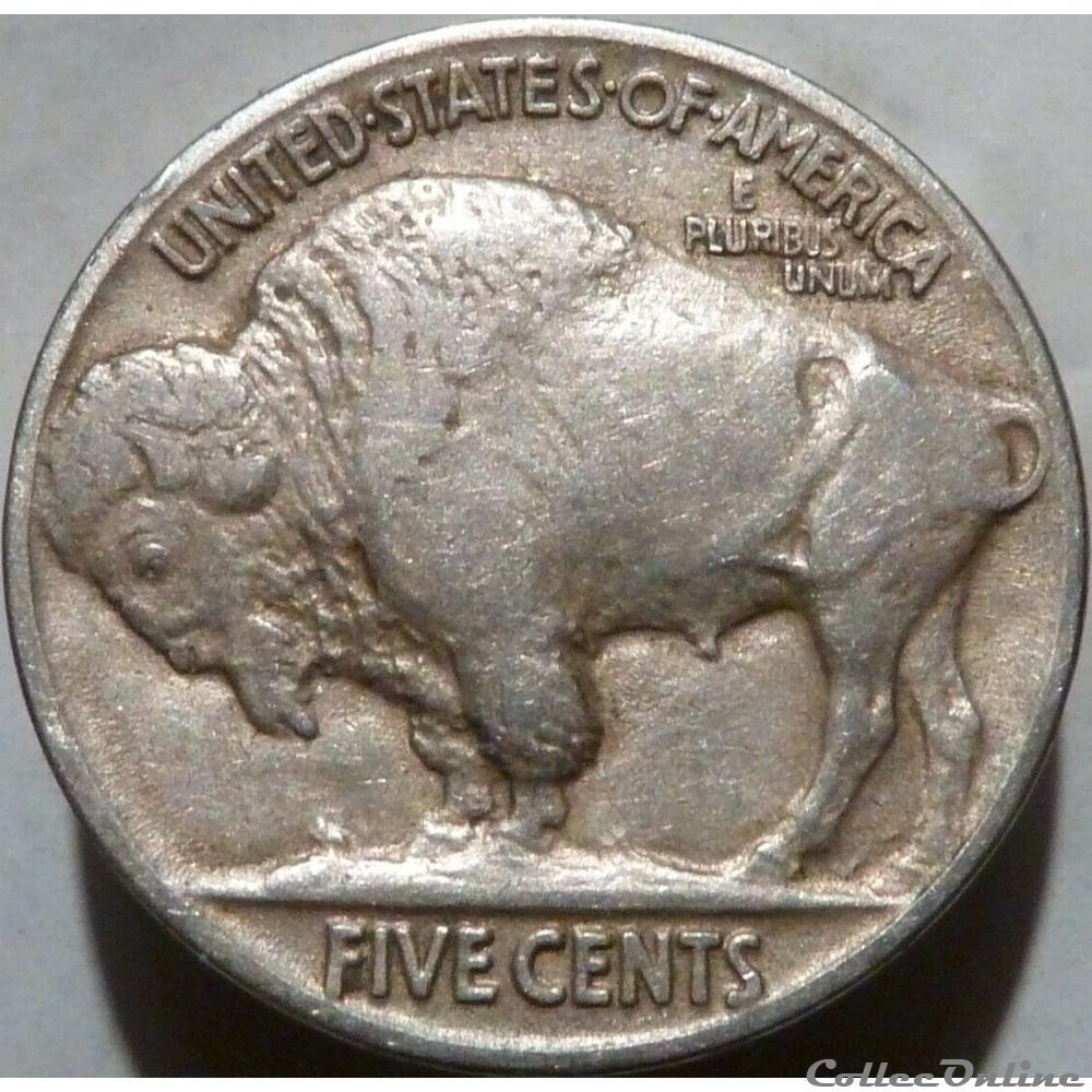 monnaie monde etat uni 1916 5 cents ex 1