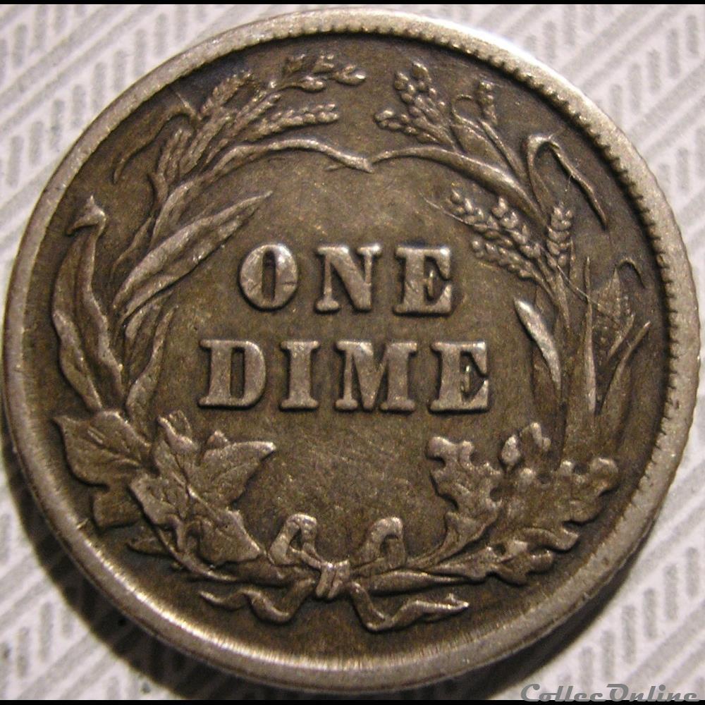 monnaie monde etat uni 1902 dime