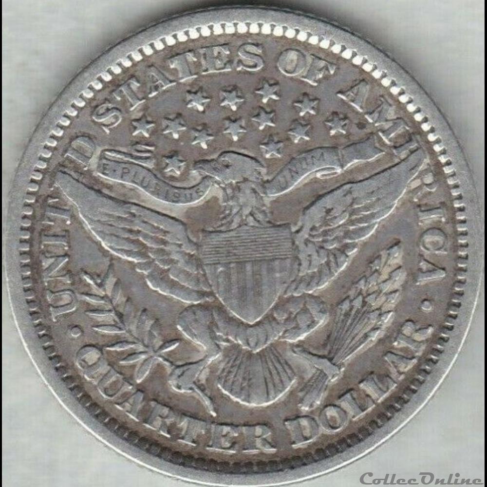 monnaie monde etat uni 1893 quarter dollar