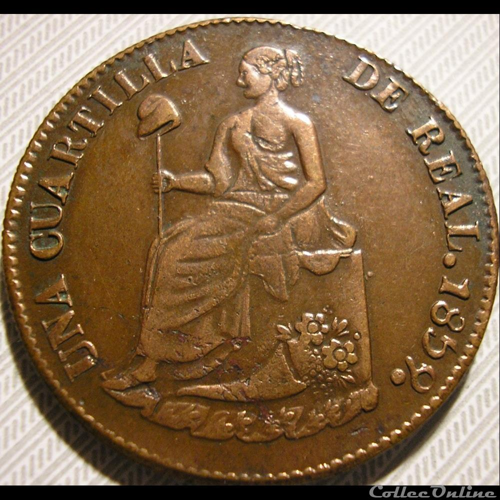 monnaie monde mexique mexico 1 4 real 1859 estado sonora 1st republic