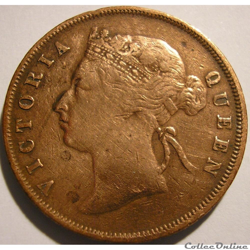 monnaie monde malaisie victoria one cent 1897 straits settlements malaysia ex 2