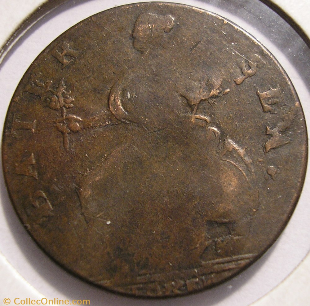 monnaie monde royaume uni 177s george sussex bater sea token