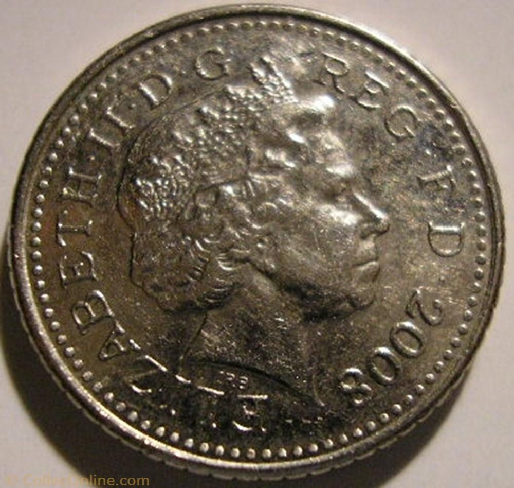 monnaie monde royaume uni elizabeth ii 5 pence 2008 uk