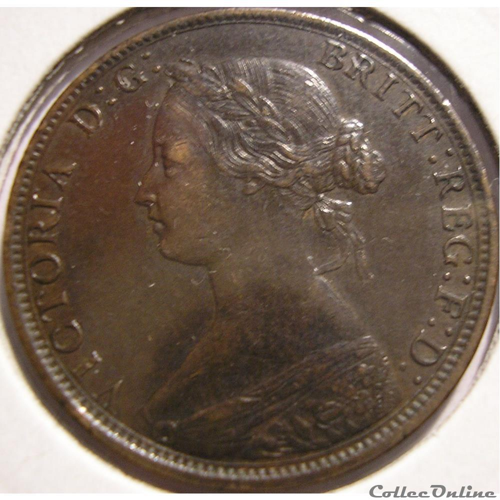 monnaie monde canadum victoria one cent 1861 nova scotia