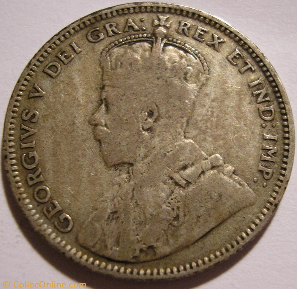 monnaie monde canadum george v 20 cents 1912 newfoundland