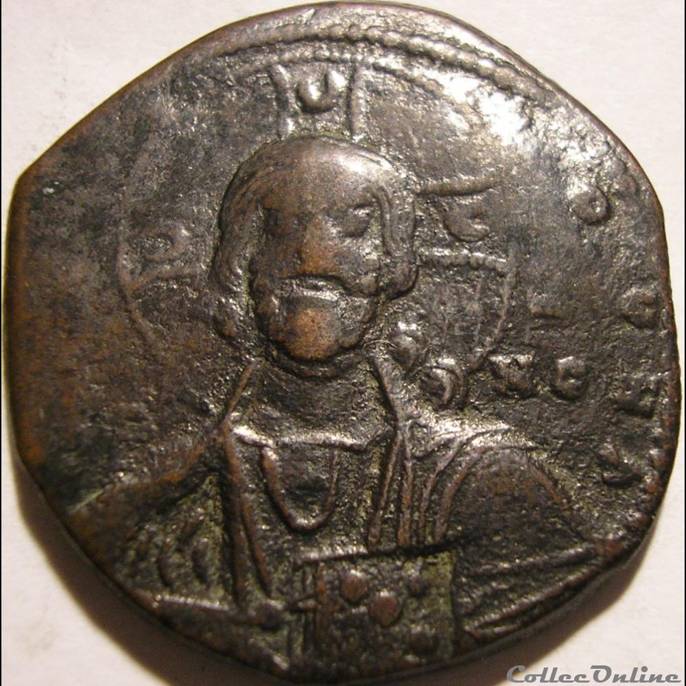 monnaie antique byzantine anonyme x a xieme s follis constantinople