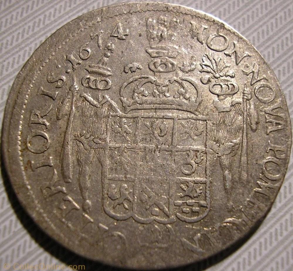 monnaie monde suede karl xi of sweden 1 3 thaler 1674 pomerania swedish dominion
