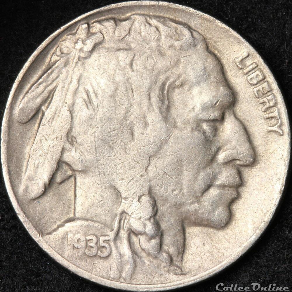 monnaie monde etat uni 1935 denver 5 cents