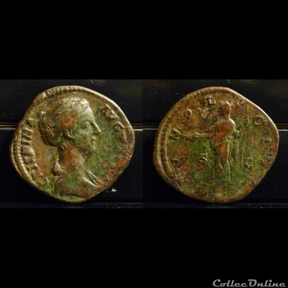 coin ancient roman 056 crispina