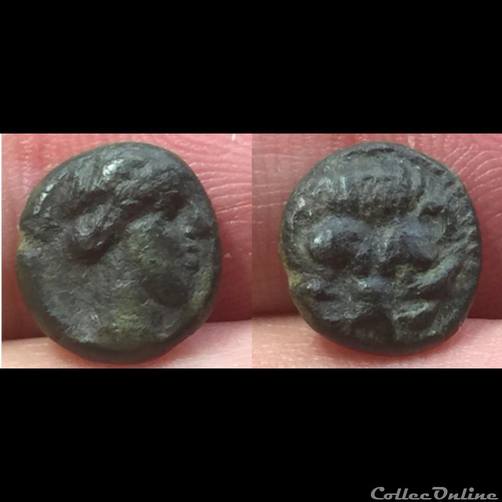 coin ancient greek bruttium rhegion