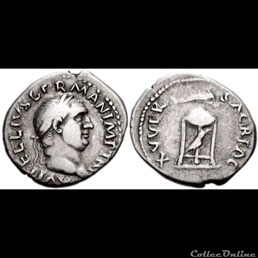 coin ancient roman 035 vitellius