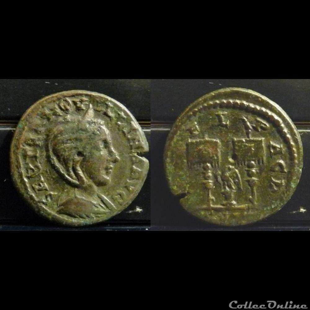 coin ancient roman provincial 087 tranquillina