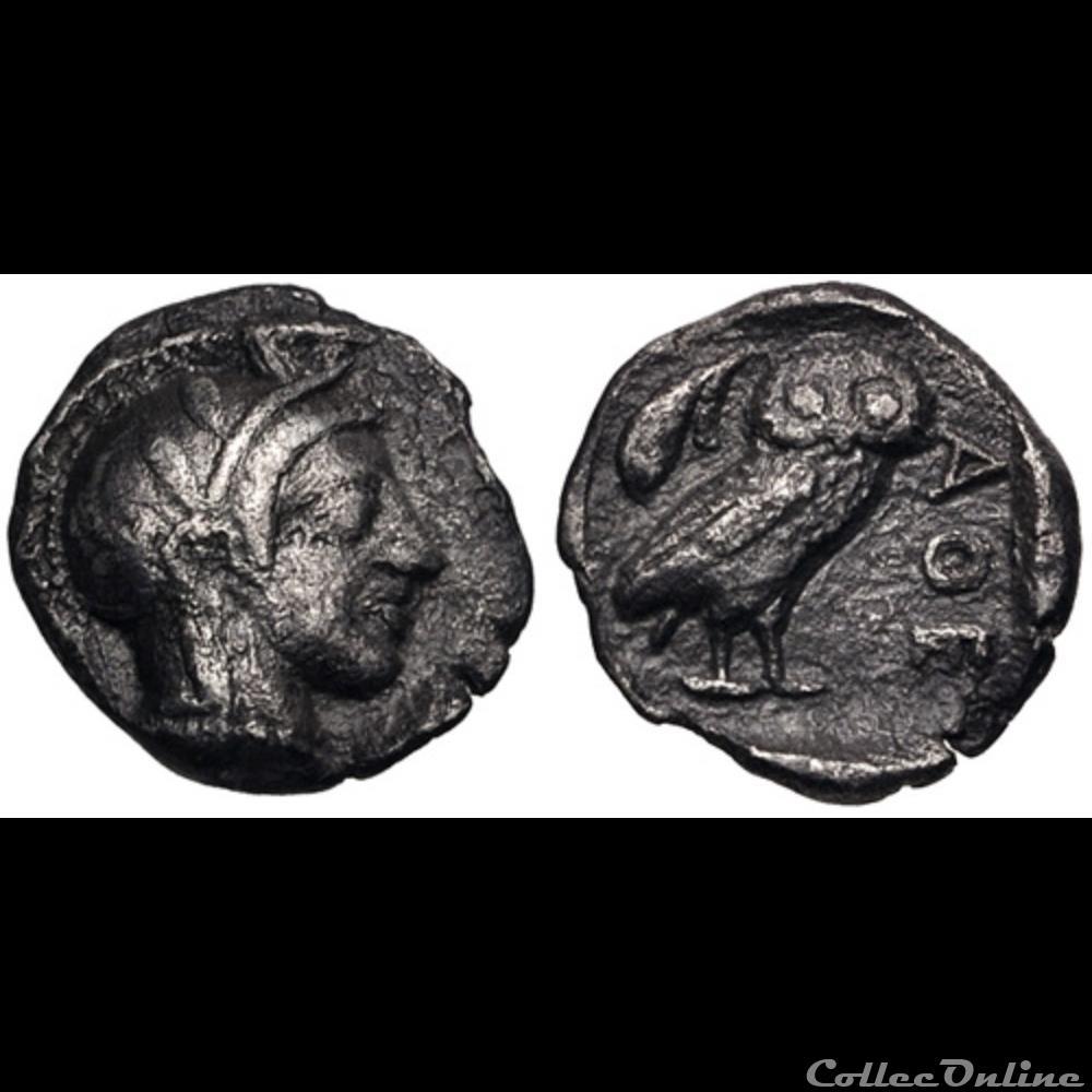 coin ancient greek attica athens