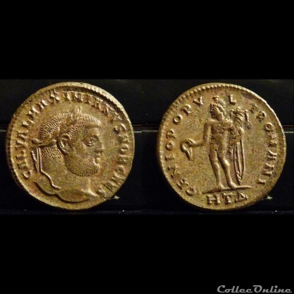 coin ancient roman 126 galerius