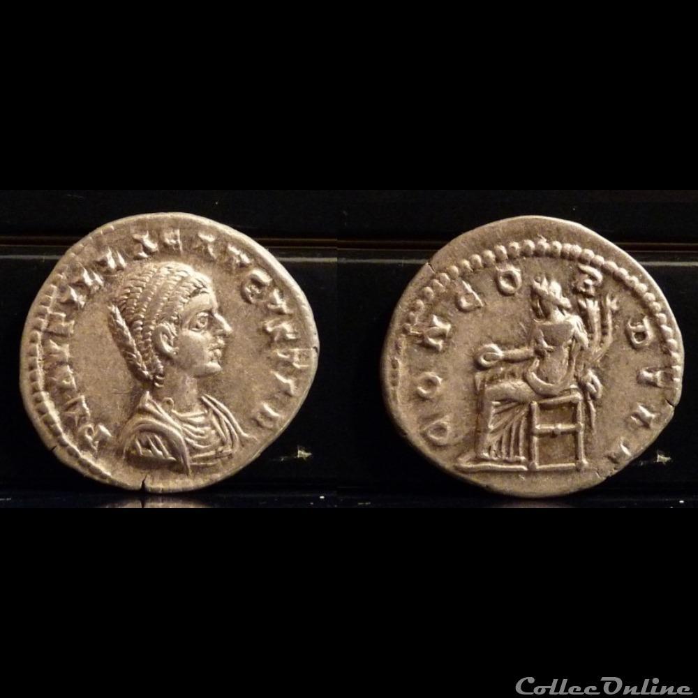coin ancient roman 067 plautilla