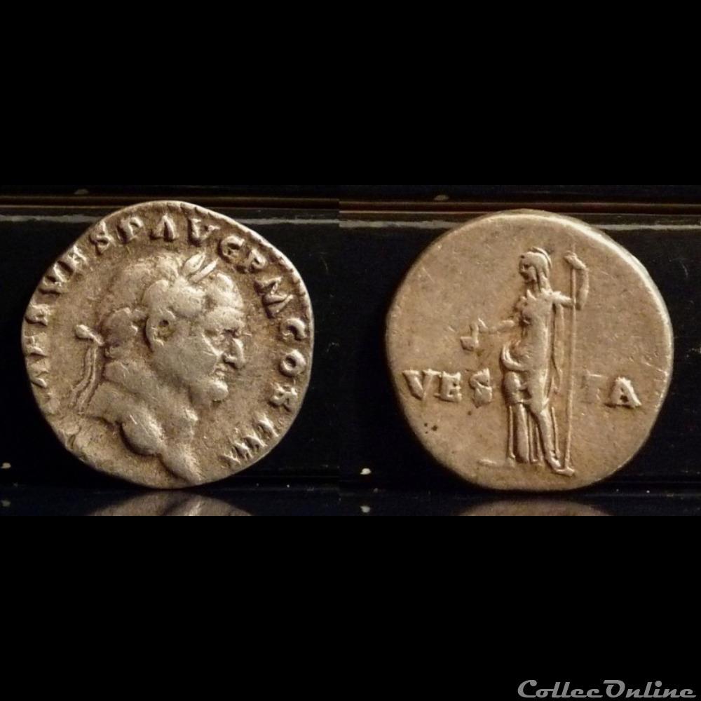 coin ancient roman 036 vespasian