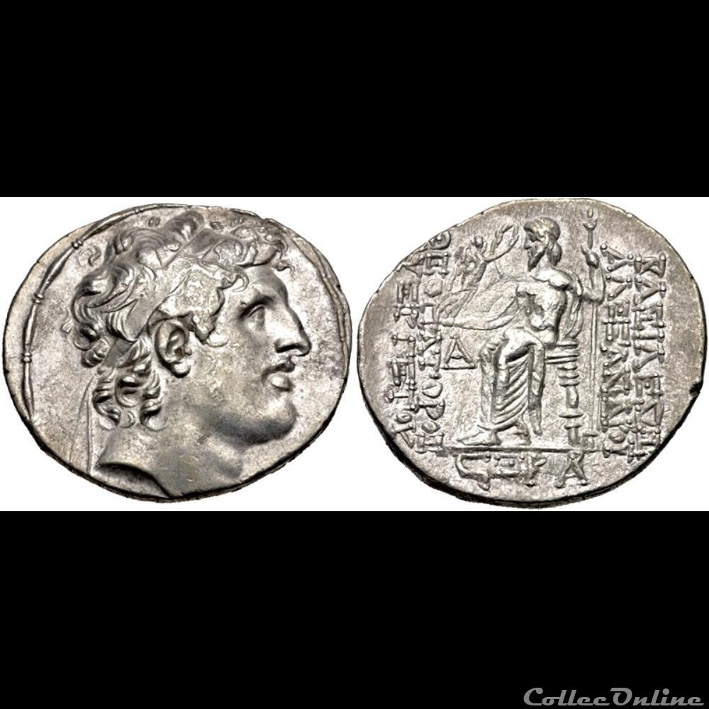 coin ancient c to greek alexander i balas