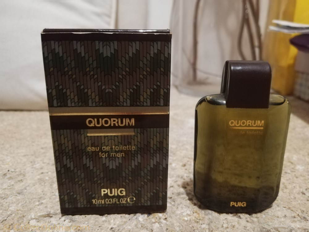 parfum beaute miniature de puig antonio quorum