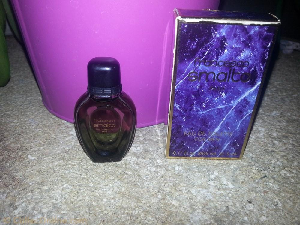 parfum beaute miniature de smalto for men