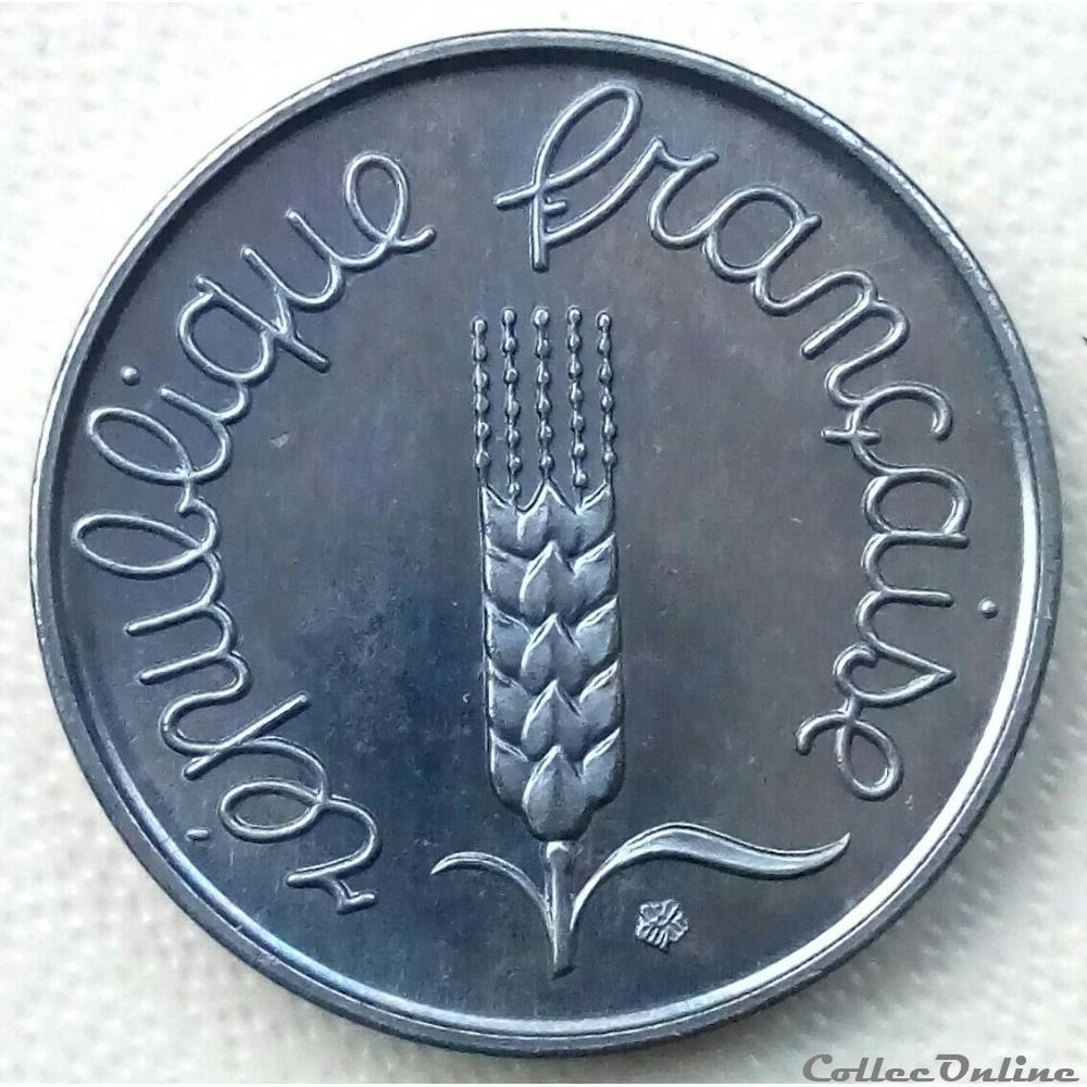 monnaie france moderne 2 centime 1961 essai