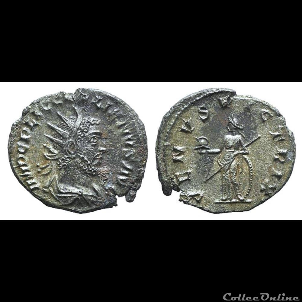 coin ancient roman gallienus billon antoninianus venvs victrix venus