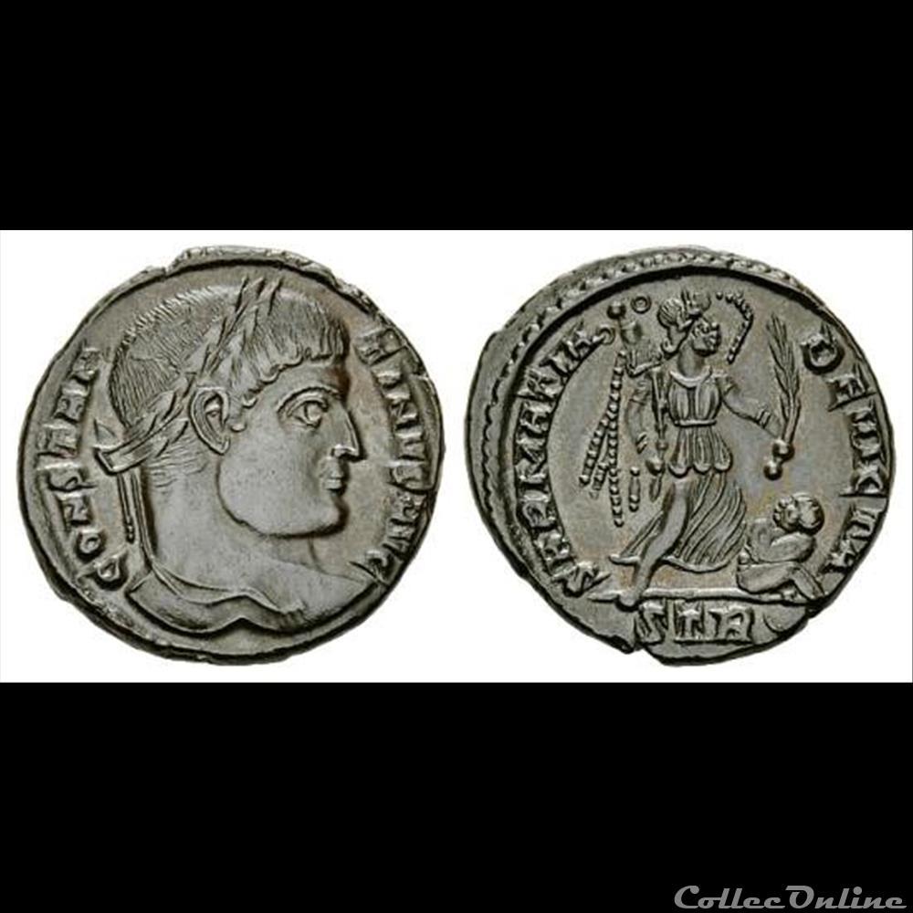 coin ancient roman constantine i ae 3 follis