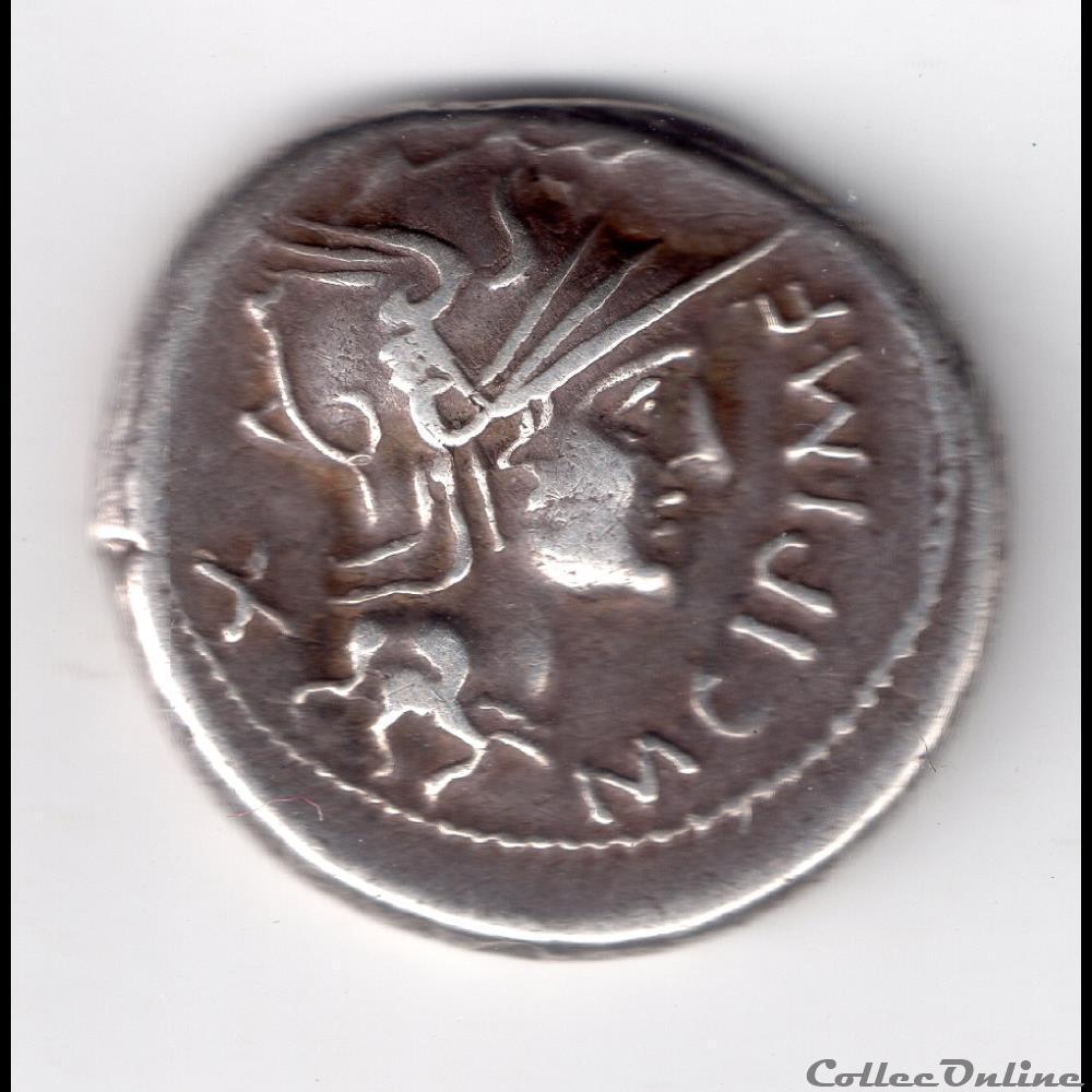 monnaie antique romaine denier cipia