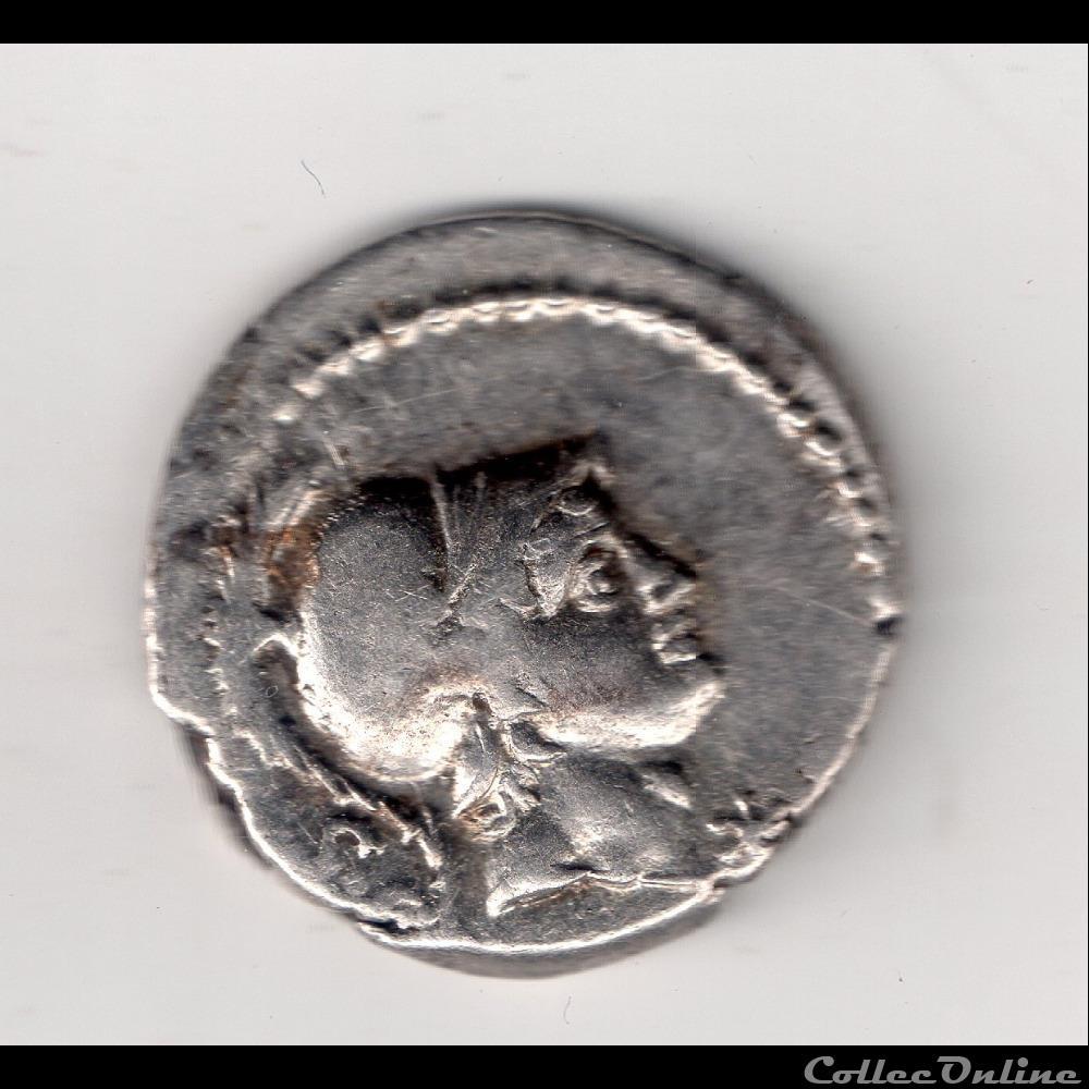 monnaie antique romaine denier rustia