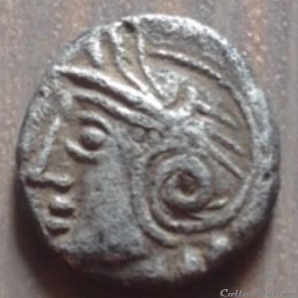 monnaie antique gauloise dt serie 884 quinaire kaletedoy
